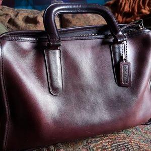 Coach small briefcase